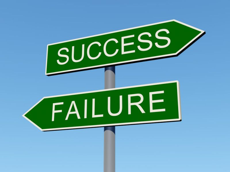 Success and failure have some common themes