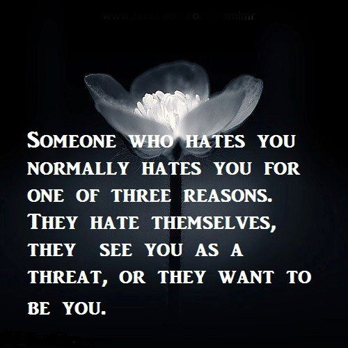 Someone who hates you