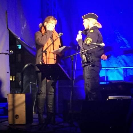 Intervju med Örebros polischef Annika.